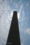 Silhouette of the Washington Monument